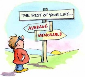 Lev etter dine verdier!